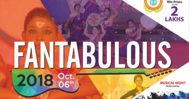 Fantabulous 2018 – An Intercollegiate College Fiesta – Win Prizes Worth 2 Lakhs