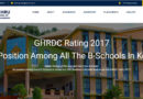 Nehru School of Management – GHRDC rating 2017 – 3rd Position in all B-Schools   Kerala