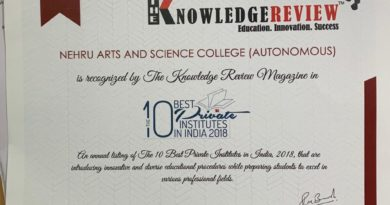 The 10 Best Private Institutes in India – Nehru Arts & Science College