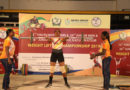 Nehru Group organizes State Level Weightlifting Championship